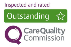 Granta Medical Practices CQC logo rated outstanding
