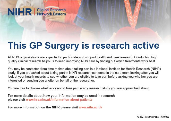 Research at Granta NIHR image