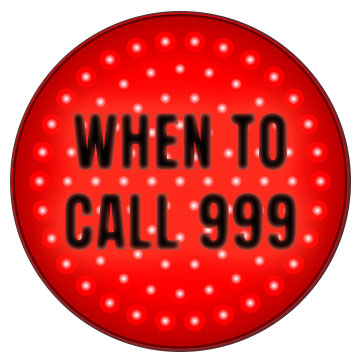 traffic light - when to call 999